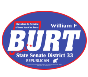 Bill Burt New Mexico Senator Logo